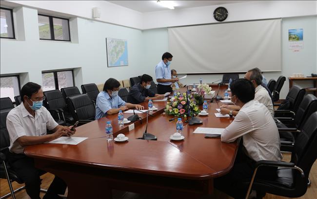 Đoàn công tác của Bộ Y Tế kiểm tra Công tác phòng chống dịch COVID-19 tại Công ty Thủy điện Trị An