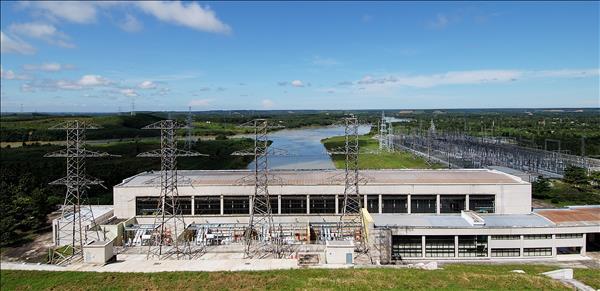 Chùm ảnh Nhà máy Thủy điện Trị An